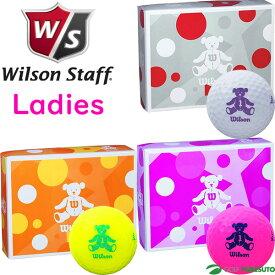 【レディース】ウィルソン ベアー 4 ゴルフボール 1ダース