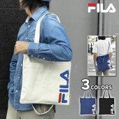 FILA(フィラ)キャンバス縦型2wayトートバッグ