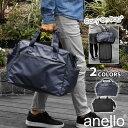 anello アネロ AT-C3351 NESS マットコーティング ポリキャンバス がま口 2way ボストンバッグ キャリーオンバッグ /…