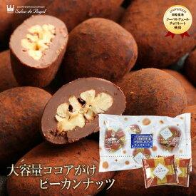 母の日 【WEB限定】大容量ココアがけピーカンナッツチョコレート400g
