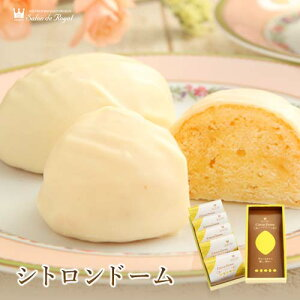スイーツ ギフト 贈り物 お菓子 洋菓子 高級 チョコレート 詰め合わせ 個包装 セット レモンケーキ シトロンドーム(5個/箱)