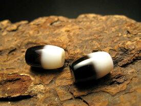 小天珠 A至純天珠 黒白天珠(くろしろてんじゅ) サイズ:約15ミリ 980円 極上 天然石 ビーズ パワーストーン