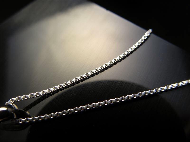 CHN148 50cm 高品質Silver925 ペンダントトップの相方 1本680円 ベネチアンチェーン チェーン長さ50cm 幅約0.9mm 金具最大幅約3.2mm CHN148 50cm