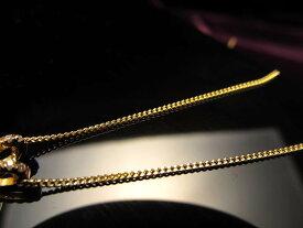 18金ゴールド仕様 CHN152 45cm 1本680円 喜平チェーン ペンダントトップの相方 チェーン長さ45cm 幅約1mm 金具最大幅約6mm 高品質Silver925