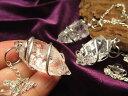◆透明!◆インド産◆金具装飾タイプ◆ヒマラヤ水晶 ラフカットスパイラルペンデュラム◆縦約23-30mm◆