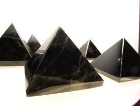 【モリオン ピラミッド】170g-190g 黒水晶 置物 ピラミッドパワー 天然石 パワーストーン