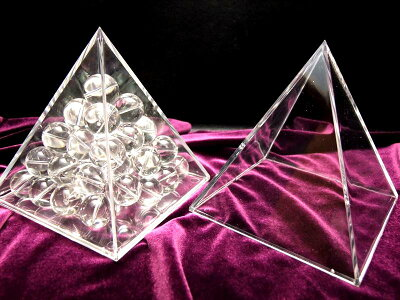 sin特注10cm【ピラミッドケース】お持ちのさざれ石でピラミッドに♪レアストーンさざれにピラミッドパワー注入!!原石や置物のチャージにも♪【特注サイズ】