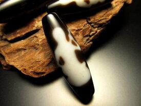 A至純天珠 琵琶観音天珠(びわかんのんてんじゅ)サイズ:約37ミリ 極上 天然石 ビーズ パワーストーン