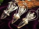 【ヒマラヤ水晶 天使像付きチャクラペンデュラム】 縦約60-65mm チャクラストーン7種【インド・ヒマラヤ山脈産】