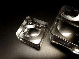 ●【Sサイズ 丸玉用 台座 K9 クリスタルガラス】台座全体直径約24mm×高さ約14mm 丸玉台座 天然石丸玉用台座
