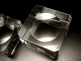 ●【Lサイズ 丸玉用 台座 K9 クリスタルガラス】台座全体直径約39mm×高さ約21-23mm 丸玉台座 天然石丸玉用台座