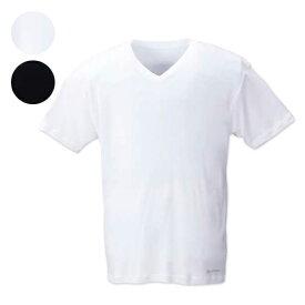 【大きいサイズ】 半袖VネックTシャツ 【Phiten(ファイテン)】 メンズ 3L/4L/5L/6L/8L 蒸れにくく汗を素早く吸い上げる吸水速乾機能のついたインナー スポーツ サポート アンダーウエア アクアチタン コンプレッションウェア 筋肉をサポート 消臭機能付 ビッグサイズ