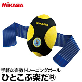 【MIKASA(ミカサ)】 ひとこぶ楽だ 【トレーニングボール】トレーニングボール 姿勢補正 運動不足 トレーニング