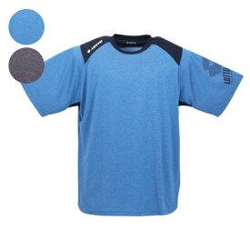【大きいサイズ】【メンズ】 lotto DRY裏メッシュ杢半袖Tシャツ 3L/4L/5L/6L/8L