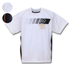 【大きいサイズ】【メンズ】 lotto DRYメッシュ半袖Tシャツ 3L/4L/5L/6L/8L