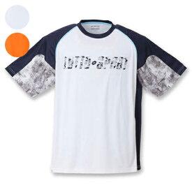 【大きいサイズ】【メンズ】 lotto エステル天竺半袖シャツ 3L/4L/5L/6L/8L