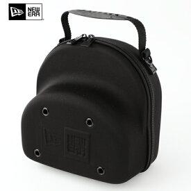 ニューエラ バッグ NEW ERA バッグ ニューエラ キャップ キャリングケース バッグ 収納 CAP CARRING CASE 2個用 (ブラック 黒)