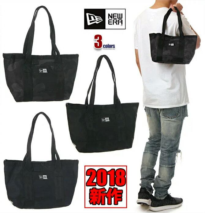 ニューエラ ミニ トートバッグ メンズ レディース NEW ERA バッグ 6L NEWERA Mini Tote Bag ファスナー付き 小さめ 小物入れ USA ブランド ファッション 黒 ブラック 迷彩 ネイビー