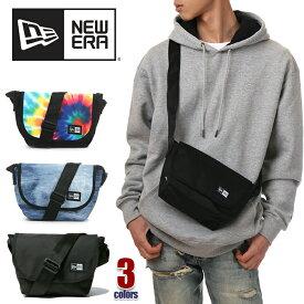 ニューエラ ショルダーバッグ 斜めがけ メンズ レディース NEW ERA バッグ ミニ 小さめ 軽い 3.5L NEWERA MINI SHOULDER BAG かっこいい 通学 ブランド 黒 ブラック