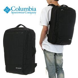 コロンビア リュック メンズ レディース トラベルバッグ COLUMBIA Star Range Travel Backpack 35L スター レンジ トラベル バックパック 旅行カバン リュックサック バックパック バッグ 防水 PC 大容量 ビジネス 通勤 アウトドア ブランド 黒 ブラック PU8322
