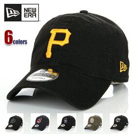 ニューエラ キャップ 帽子 メンズ レディース NEW ERA 9TWENTY MLB CAP ストラップバック メジャーリーグ サイズ調整 ロゴ ブランド おしゃれ スポーツ ストリート ヒップホップ ダンス 衣装 ユニセックス 黒 紺