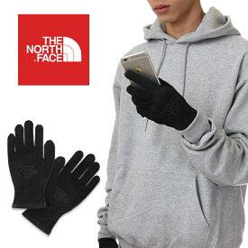 ノースフェイス 手袋 スマホ対応 メンズ THE NORTH FACE イーチップ グローブ ETIP KNIT GLOVES 防寒 軽量 スマートフォン対応 USAモデル ブランド 黒 ブラック プレゼント 男性 NF0A3M5L