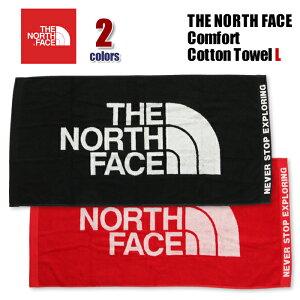 ノースフェイス タオル THE NORTH FACE Comfort Cotton Towel L 今治 日本製 綿100% 消臭加工 コットンタオル L バスタオル スポーツ ギフト プレゼント 黒 赤 NN22101