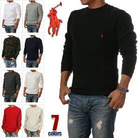 ラルフローレン 長袖 Tシャツ メンズ RALPH LAUREN サーマル ロンT 大きいサイズ USAモデル ビッグシルエット ビッグ ビッグサイズ ビッグロンT アメカジ スポーツ B系 ストリート系 ヒップホップ ダンス 衣装 USA ブランド ファッション グレー 黒 白 迷彩 S M L XL 2XL