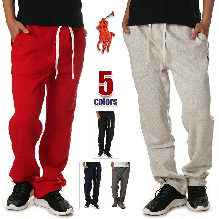 ラルフローレン スウェットパンツ メンズ 大きいサイズ RALPH LAUREN 裏起毛 スウェットパンツ パンツ スウェット アメカジ スポーツ ヒップホップ ダンス 衣装 USA ブランド ファッション USAモデル グレー レッド ブラック ネイビー 黒 赤 紺