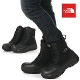 """ノースフェイスブーツメンズスノーブーツTHENORTHFACESnowShot6""""BootsTXVスノーショット6""""ブーツテキスタイルV編み上げブーツ雪道防水シューズ靴大きいサイズアウトドアブランドファッションブラック黒NF51960"""