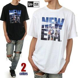 ニューエラ Tシャツ メンズ レディース 半袖 NEW ERA ロゴ Tシャツ 大きいサイズ 白 黒 ホワイト ブラック NEWERA ビッグTシャツ ビッグシルエット おしゃれ ゆったり USA ブランド ファッション