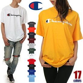 【セール】チャンピオン Tシャツ メンズ レディース キッズ CHAMPION ビッグT USAモデル ロゴ 半袖 大きいサイズ ビッグシルエット ビッグ ビッグサイズ ビッグT ロゴ 大きめ おしゃれ 部屋着 カジュアル ジム ウェア ブランド 綿100% 白 黒 紺 グレー オレンジ S M L XL XXL