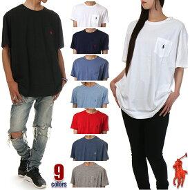 ラルフローレン ポケット Tシャツ メンズ レディース ポケT ビッグTシャツ POLO RALPH LAUREN 半袖 Tシャツ ロゴ 無地 大きいサイズ ビッグシルエット ビッグ ビッグサイズ ビッグTシャツ 部屋着 ポロ ラルフ ダンス 衣装 USA ブランド 白 黒 赤 紺 グレー S M L XL XXL