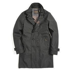 【WINTER SALE】【30%OFF】ムーレー MOORER TIZIANO WI 中綿 ジャケット ミディアム丈 スタンドカラー ブラック 秋冬 メンズ イタリア ブランド 2XS サイズ