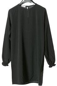 カングラ Kangra 【送料無料】ドレス ワンピース ブラック【子供服】【キッズ】【ジュニア】【サイズ10(10歳)】【シルク混】