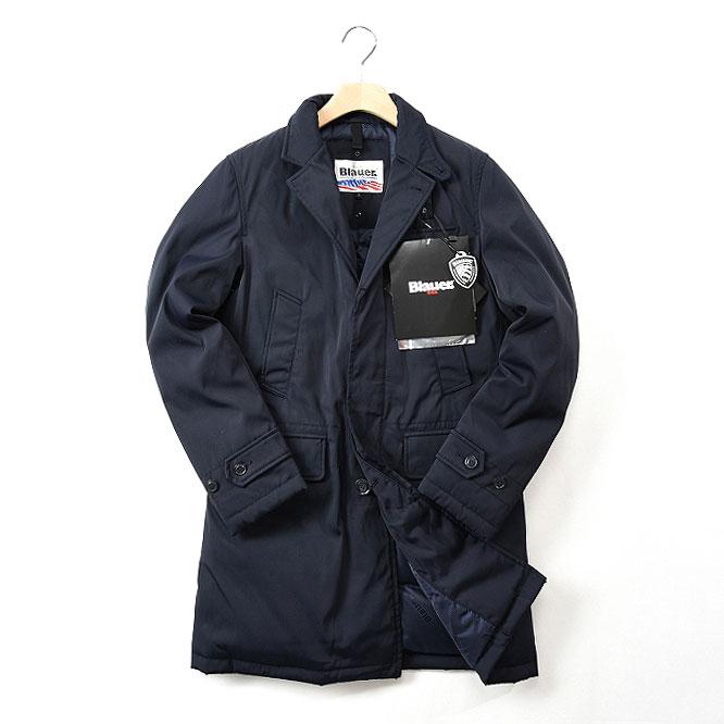 Blauer ブラウアー 【送料無料】ダウンジャケット コート ステンカラー メンズ ブランド