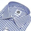 Bagutta/バグッタ/【送料無料】ドレスシャツ/レギュラーカラー/SLIM FIT/ストライプ 長袖/コットンストレッチ【メンズ…