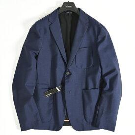 ジルサンダー JIL SANDER 【送料無料】テーラードジャケット シングル 2つボタン メンズ ウール モヘア 無地 ネイビー 紺/M L XL/ブランド イタリア