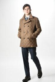 イザイア ISAIA 【送料無料】ピーコート キルティング コート ウール 中綿 秋冬 メンズ ブランド イタリア