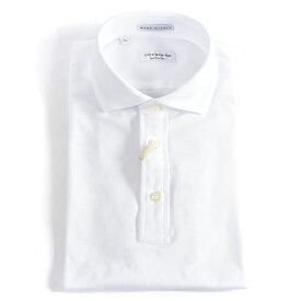 ギローバー GUY ROVER 【送料無料】ポロシャツ 鹿の子 半袖 メンズ 春夏 ストレッチ ホワイト 白 イタリア製/XS S M L/イタリア ブランド ITALY