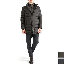 【半額以下】【お値段見直し】ムーレー MOORER CALEGALI OP ダウン ジャケット コート ミディアム丈 ライナー付き スタンドカラー 秋冬 メンズ イタリア ブランド M L XL 2XL 3XL 4XL 【大きいサイズのスペシャルセール】
