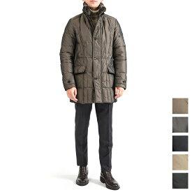 【WINTER SALE】【30%OFF】ムーレー MOORER VALENTE KM ダウン ジャケット コート ミディアム丈 シングルブレスト 立襟リアルファー付き 秋冬 メンズ イタリア ブランド 2XS S M L XL 2XL 3XL 大きいサイズ