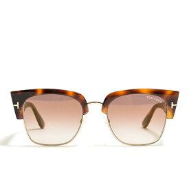 トムフォード TOM FORD Dakota-02 TF554 メガネフレーム 眼鏡 サーモント ハーフリム メンズ レディース べっ甲 ブラウン 茶 アイウェア イタリア製 MADE IN ITALY ギフト