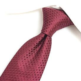 【ポイント10倍】ジョルジオアルマーニ GIORGIO ARMANI ネクタイ メンズ シルク 100% 総柄 レッド 赤 イタリア ブランド MADE IN ITALY ビジネス ギフト
