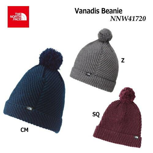 【2018 Fall&Winter】【メール便選択で送料無料】THE NORTH FACE/ノースフェイス Vanadis Beanie(バナディスビーニー)/NNW41720【女性用】【ニット帽】【帽子】【ウィメンズフリーサイズ】【レディース】