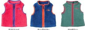 【2018-19 Fall&Winter】THE NORTH FACE/ノースフェイス Baby Fleece Vest(ベビーフリースベスト)【Baby】/NAB71803【ベビーフリースベスト】【子供防寒】