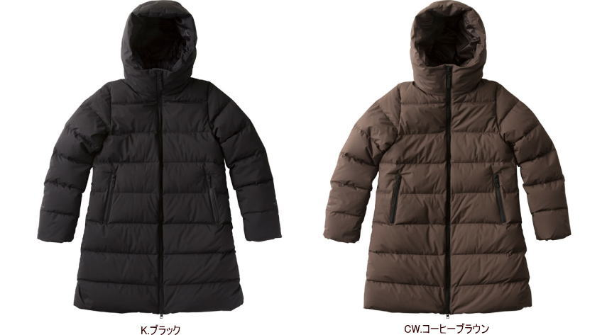 【2018-19 Fall&Winter】【送料無料】THE NORTH FACE/ノースフェイス WS Down Shell Coat(ウィンドストッパーダウンシェルコート)/NDW91864【ウィメンズ】【レディース】【アウター】【ダウンコート】【スタッフサック付き】【女性用】