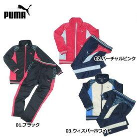 PUMA/プーマ ACTIVE MOVEトレーニングジャケット・パンツセット(ガールズ)/834674・834675【ジャージ】【上下セット】【子供用】