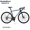 【21年秋以降入荷】KhodaaBloom(コーダーブルーム) FARNA DISC 105(ファーナ ディスク 105) 2021年モデル ロードバイク