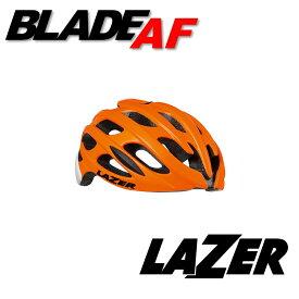 LAZER(レイザー) BLADE AF(ブレードアジアンフィット) マットフラッシュオレンジホワイト ヘルメット